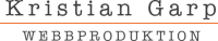 Kristian Garp Logotyp